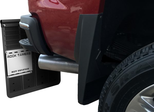 Heat Shield Can Be Moved Anywhere On Mud Flap