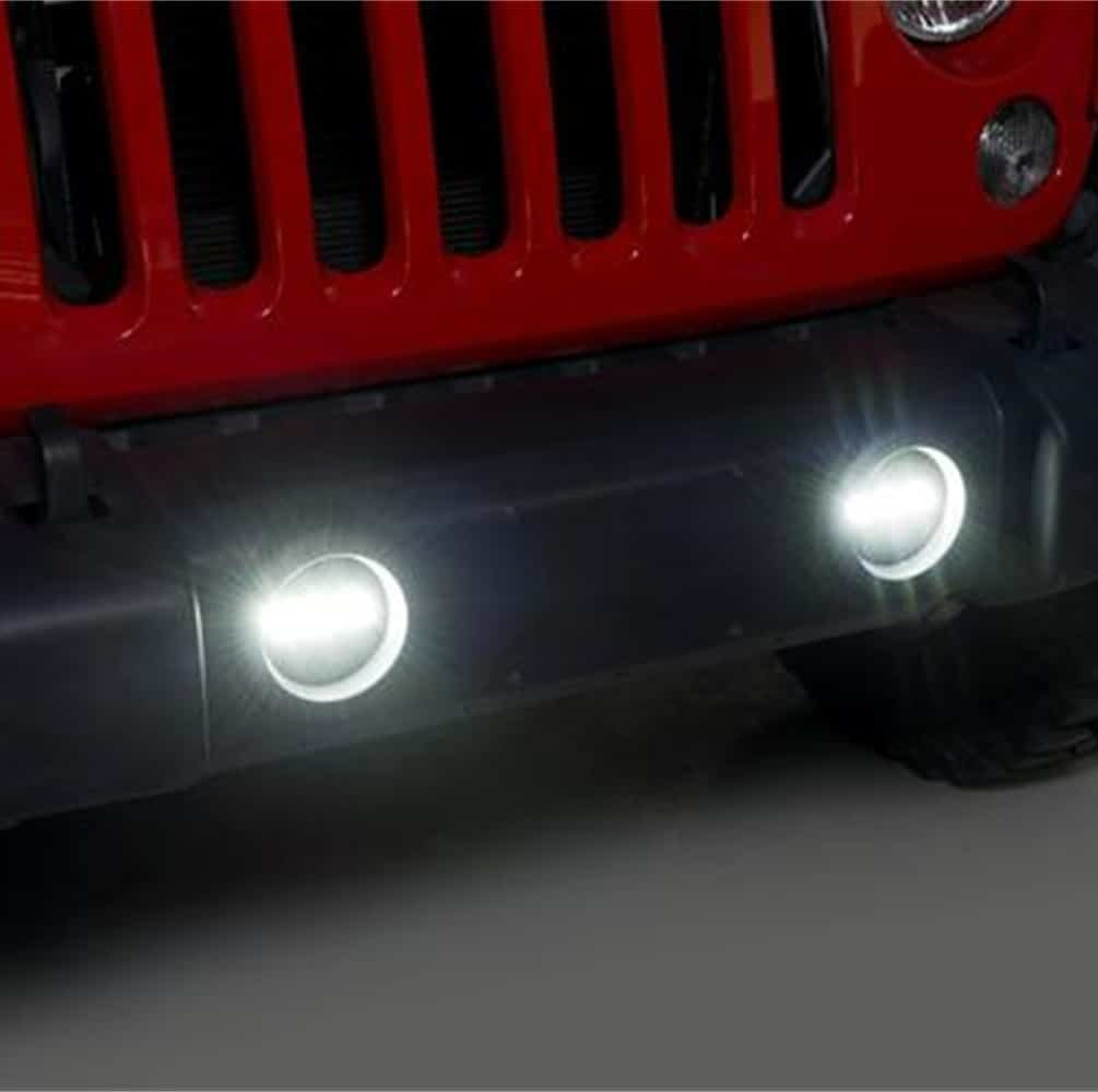 Putco Luminix OE Replacement LED Fog Lights - Jeep Wranger