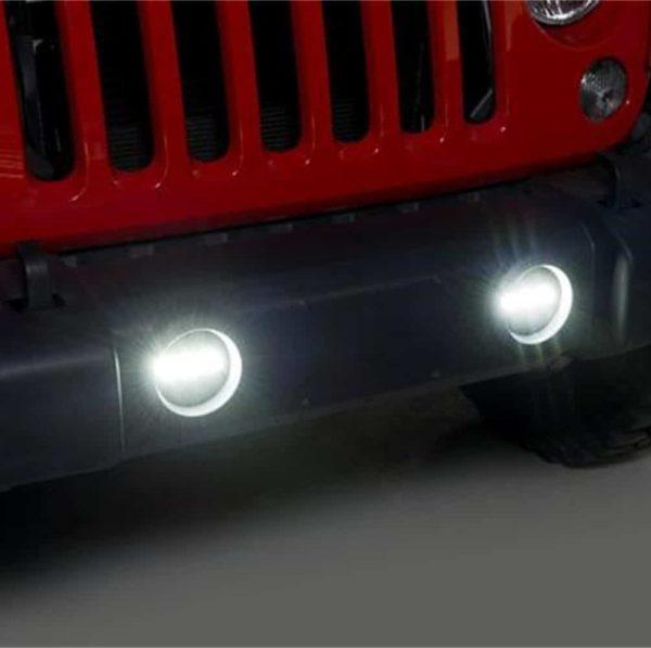 Putco Luminix OE Replacement LED Fog Lights - Jeep Wranger