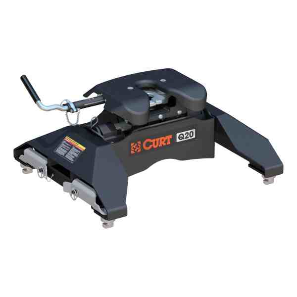 Curt Q-Series 5th Wheel Hitch With Puck System OEM Legs