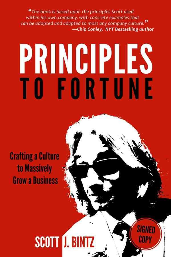 Principles to Fortune - Signed Copy - 978-0999623435