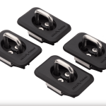 2 Pairs of Bull Ring Retractable Tie Downs