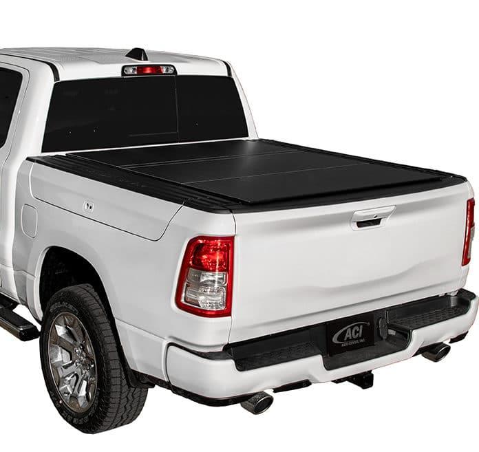 LOMAX Black Matte Cover on Ram Truck