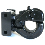 """Pintle Hook Attachment Allows For up to 7"""" of Adjustment"""