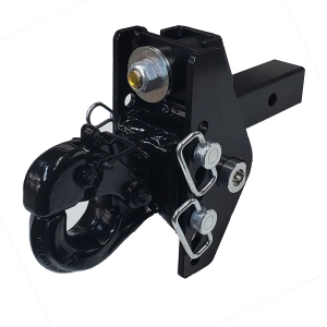 Shocker XRC Cushioned Adjustable Pintle Hitch Drop Ball Mount