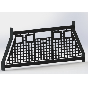 Iron Cross Commercial Series Rack With 4 Light Cut-outs