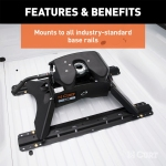 Mounts To Industry Standard Base Rails