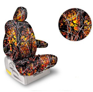 Northwest Seat Covers Solid Moonshine Wildfire Camo
