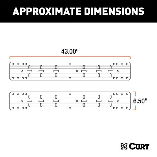 Base Rail Dimensions