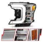 Anzo USA LED Projector headlights black housing