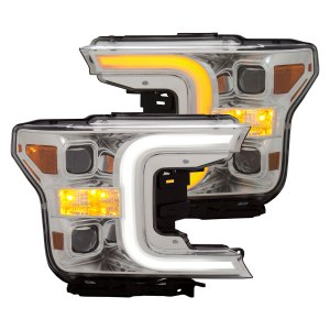 Anzo USA LED Projector Headlights Ford F150