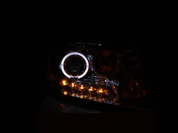 Anzo USA Halogen Projector Headlight Ford F150