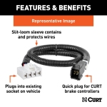Curt Brake Controller Wiring Harness Features