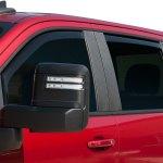 EGR SlimLine In Channel Window Visor Chevy Silverado 1500