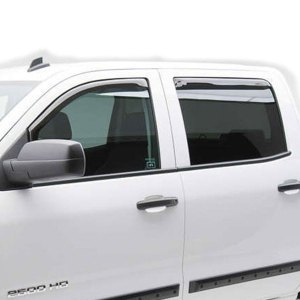 EGR Slimline In-Channel Window Visor Chevy HD