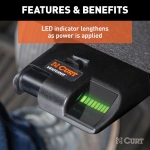 LED Indicator Lengthens As Power Is Applied
