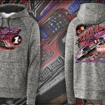 Scott Bintz Racing Hoodie 2021 Electric Charcoal