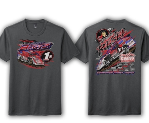 Scott Bintz Racing Tee Shirt 2021 Charcoal Grey