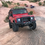 Mile Marker Winch In Action