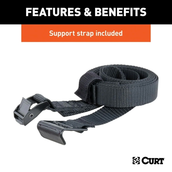 Extendable Rack Includes Support Strap