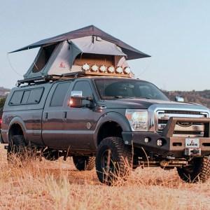 Leer Overland Rooftop Rack Tent Leer Overland Rooftop Rack Tent 1LG030000