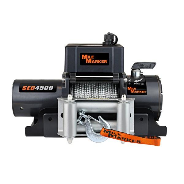 Mile Marker SEC4500 Electric Trailer Winch 76-50115bw