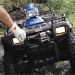 PE2500 Winch With Free Spoiling