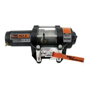 Mile Marker PE2500 Waterproof Winch Steel Cable 77-50105BW
