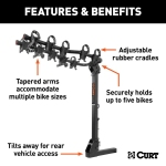 Curt Premium Bike Rack Features