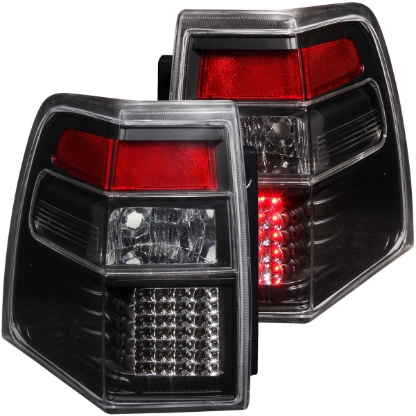 Anzo USA LED Tail Lights Clear Lens Ford Expedition Black Housing   Sold As A Pair