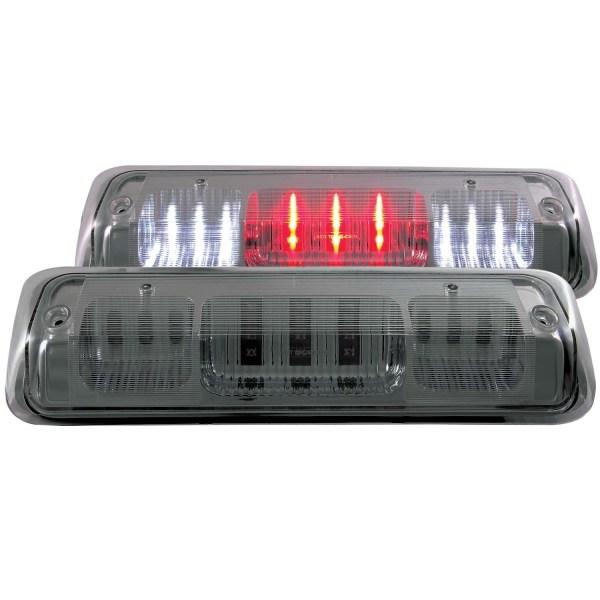 Anzo Chrome LED Third Brake Lights w/Smoke Lens - Dodge Ram Truck 1500 2500 3500