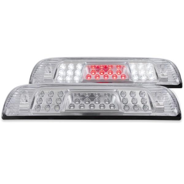 Anzo Chrome LED Third Brake Lights w/Clear Lens - Chevy Silverado / GMC Sierra