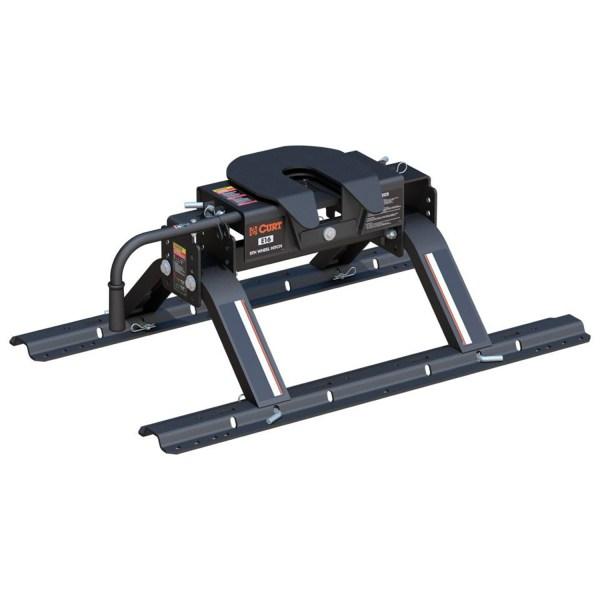 E-Series 5th Wheel Hitch w/ Legs & Rollers - 16116