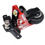 Shocker Air Receiver Hitch Sway Control Ball Mount