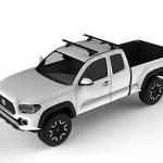 Yakima Pickup Truck CoreBar Roof Rack - Naked Roof - Fixed Position - Installed