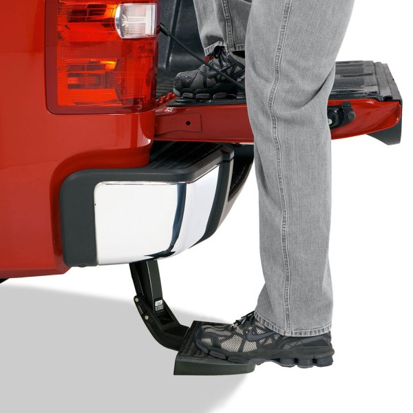AMP Research Retractable Truck Bed Bumper Steputy-75306-01A