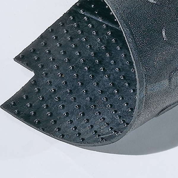 Rubber Cleats On Bottom Allow For Grip & Drainage