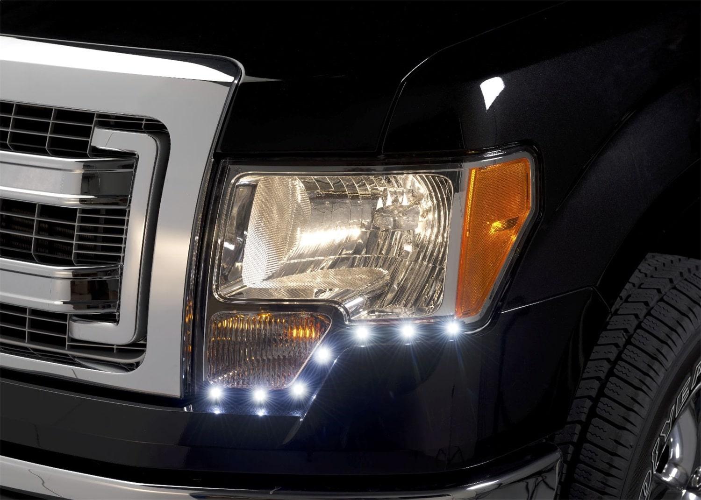 Putco G2 Dayliner LED Headlight Trim - Ford