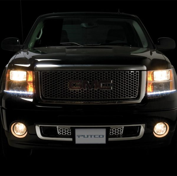 Putco G3 Dayliner LED Headlight Trim - GMC
