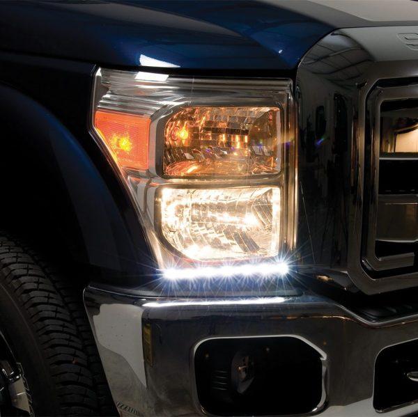 Putco G3 Dayliner LED Headlight Trim - Ford SuperDuty