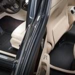 Front & Rear Black Custom Floor Mats & Liners