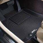 3D Digitized Black Custom Floor Mats & Liners