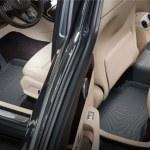 Front & Rear Gray Custom Floor Mats & Liners