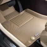3D Digitized Tan Custom Floor Mats & Liners