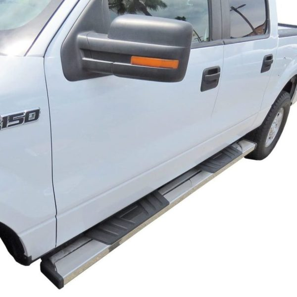 Steelcraft STX500 6″ Stainless Steel Running Boards Ford F150