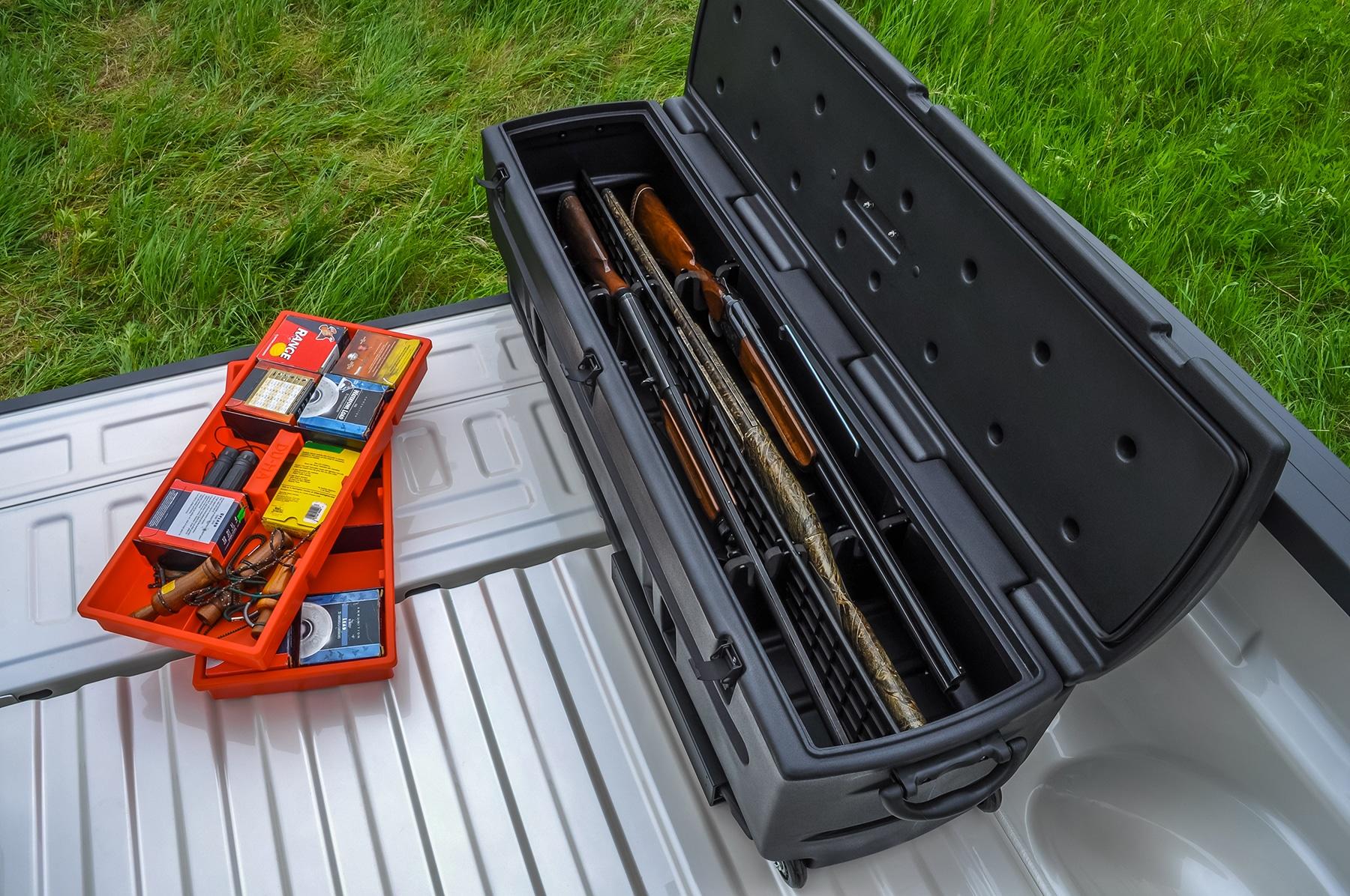 Great Portable Storage Lock Box for Guns