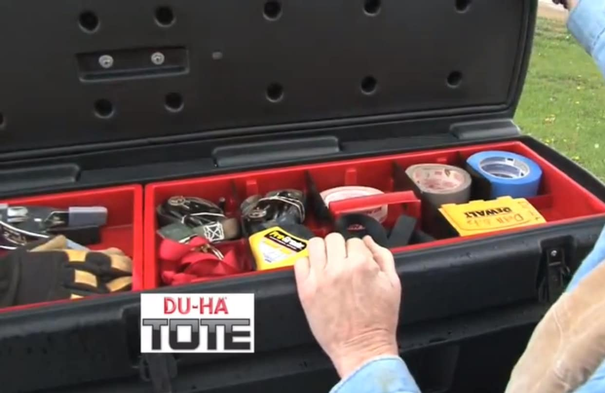Portable Storage Box for Contractor