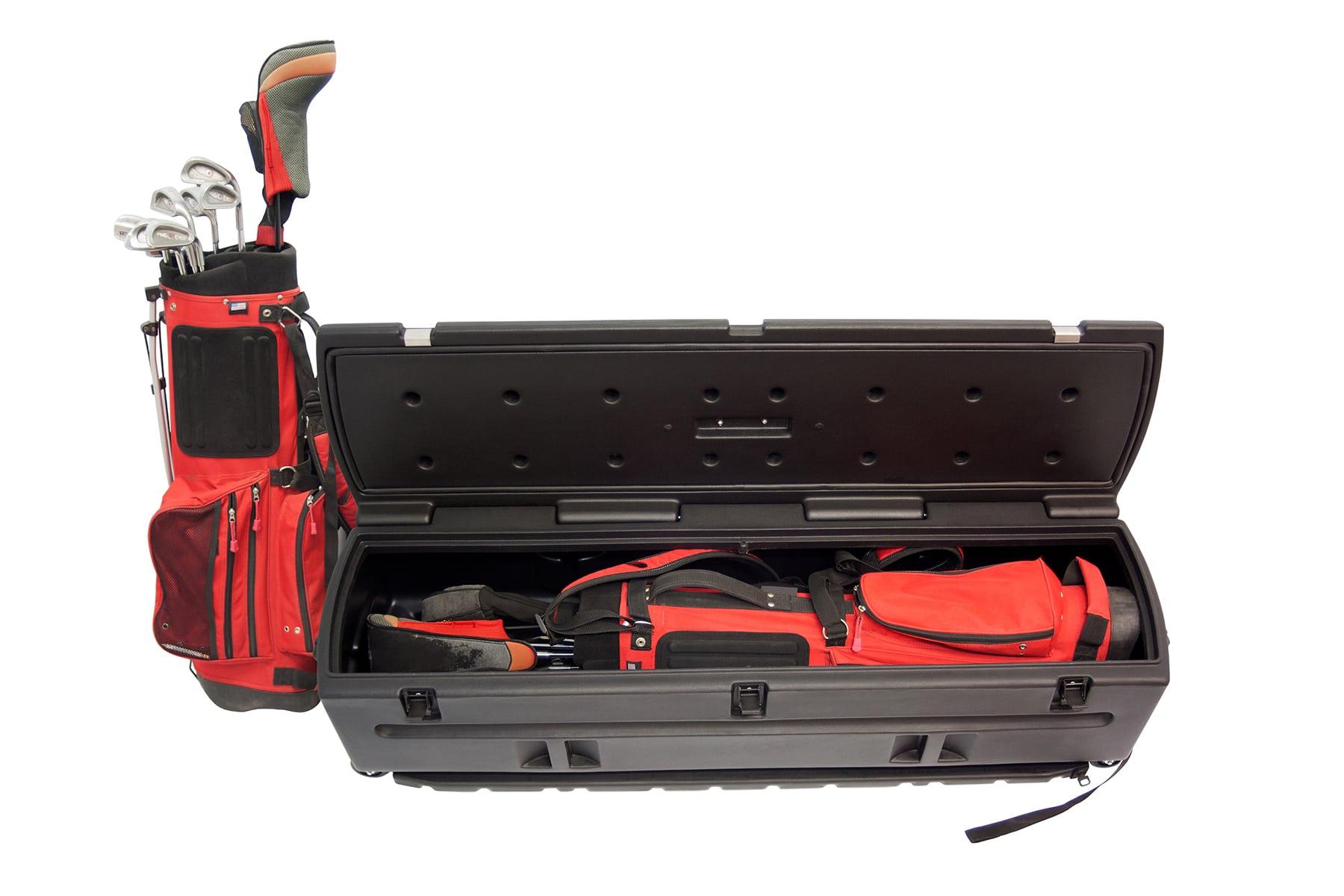 Portable Storage Box for Golfers