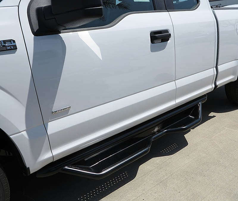 Steelcraft HD Side Bars on Ford F150 Supercab