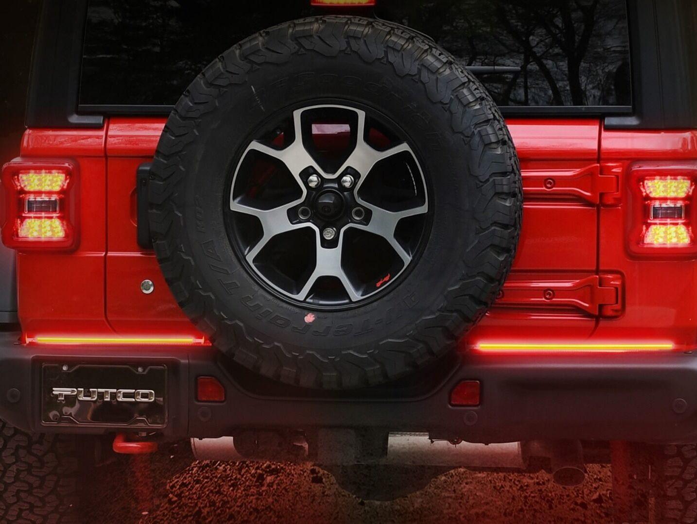 "Putco 18"" Pair Red Blade LED Tailgate Light Bar"